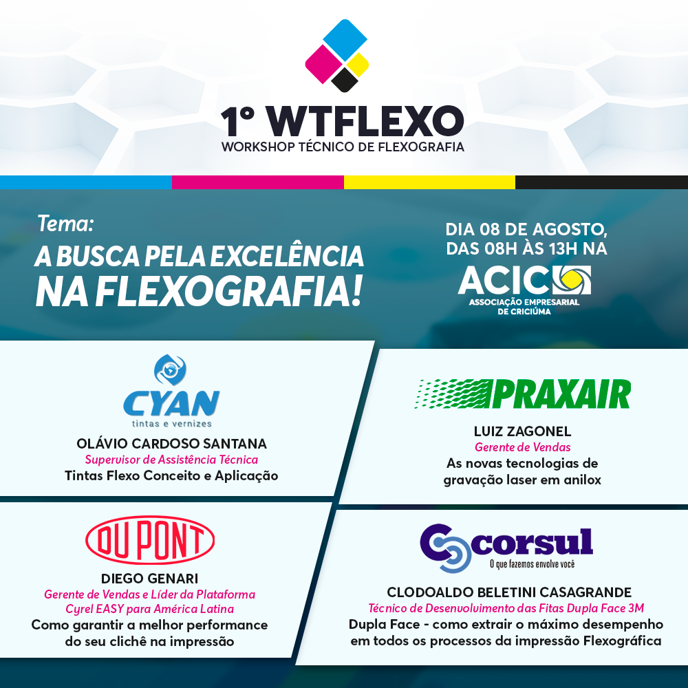 1 WTFLEXO Workshop Técnico de Flexografia